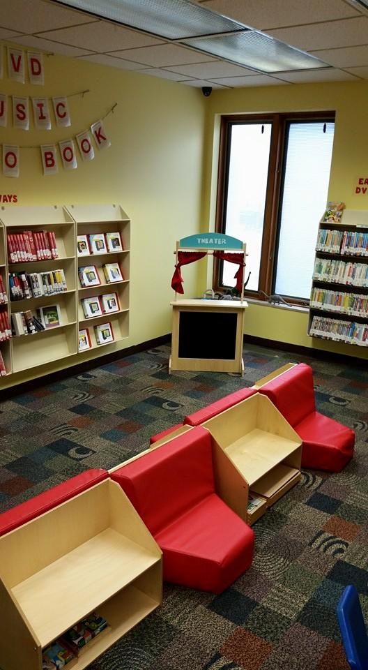 Seating and display space