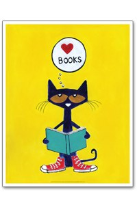 pete the cat loves books