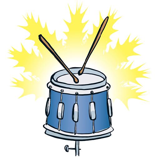 colored drum