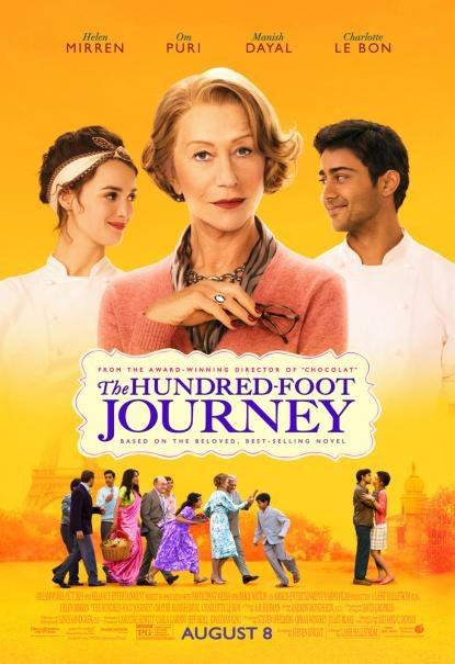 The Hundred Foot Journey DVD