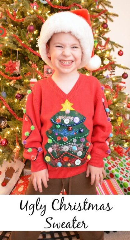 DIY-Crafts-19-Ugly-Christmas-Sweater-Ideas-Image-16-kids-sweater.jpg