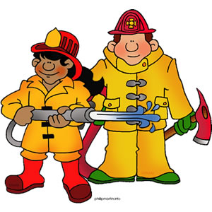 firefighters clip art