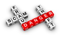 Fraud scam danger theft image