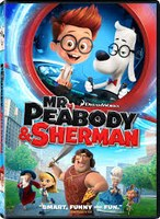 mr peabody and sherman dvd