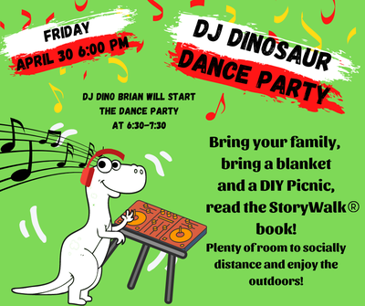 DJ Dinosaur Dance Party
