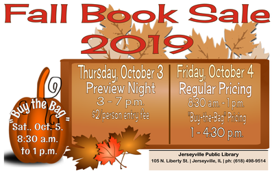 """HUGE Fall Book Sale -- """"Buy the Bag"""" continued"""