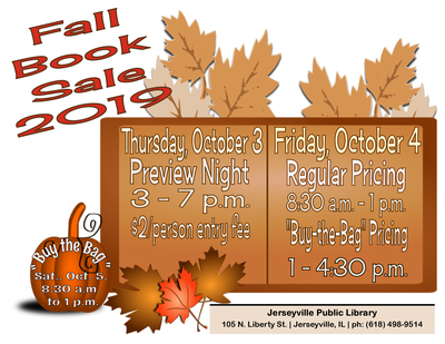 HUGE Fall Book Sale -- Preview Night
