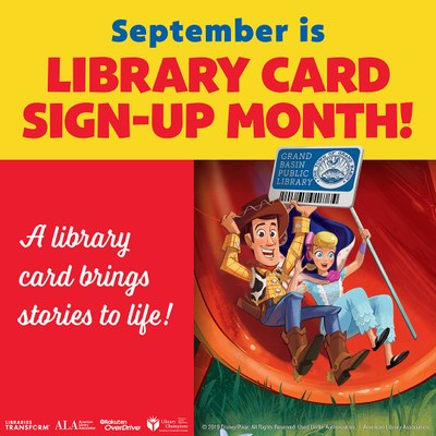 Library Card Sign-up Month Welcome Party!
