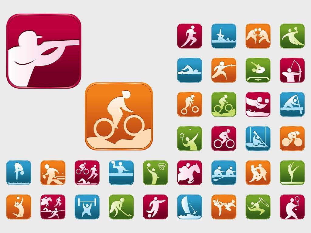 Olympic Sports Vectors Jpg