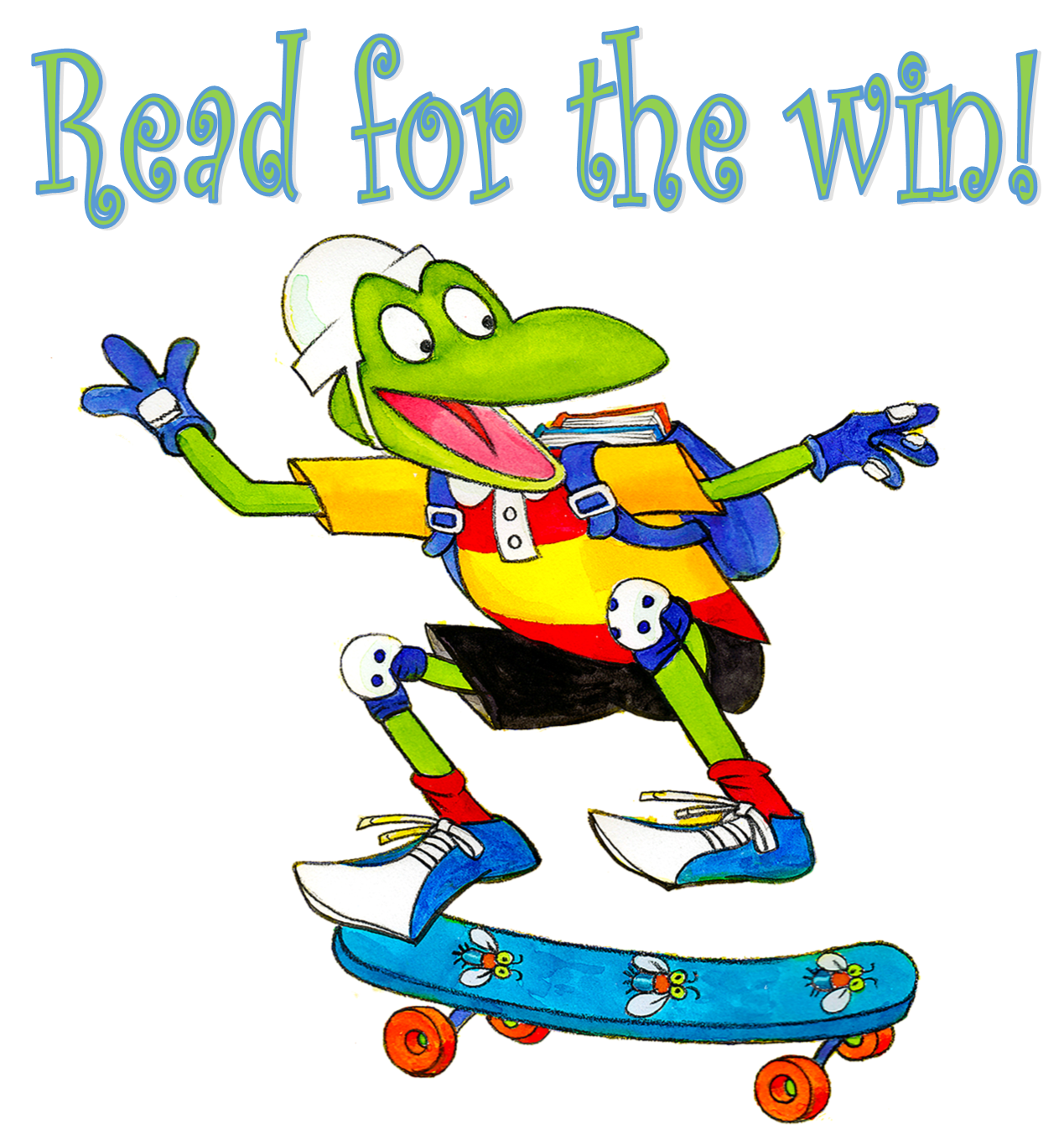 Froggy Read for the Win