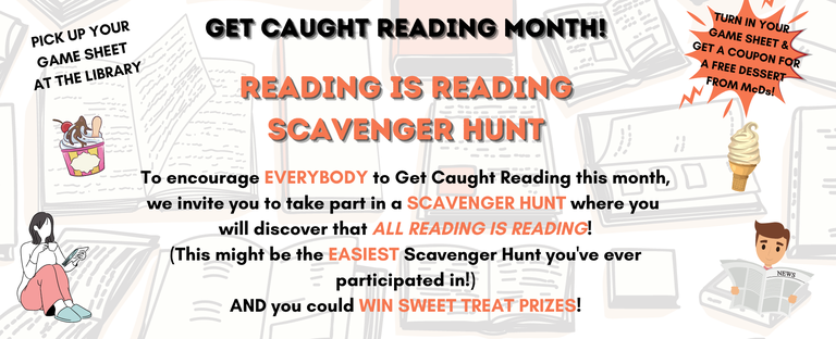 Carousel Get Caught Reading Month! Scavenger Hunt2.png