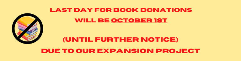 Carousel Last Day Book Donations.png