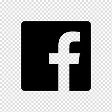 Facebook transparent logo black.png