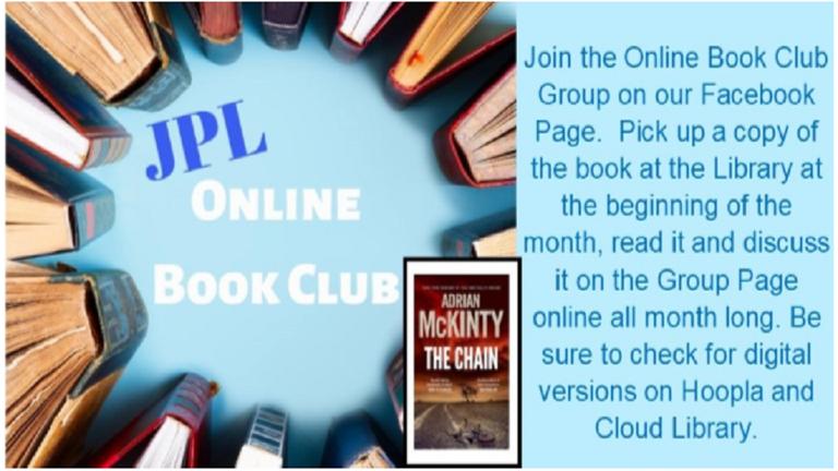 Online Book Club Carousel Slide